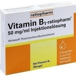 VITAMIN B1 RATIO 50MG/ML