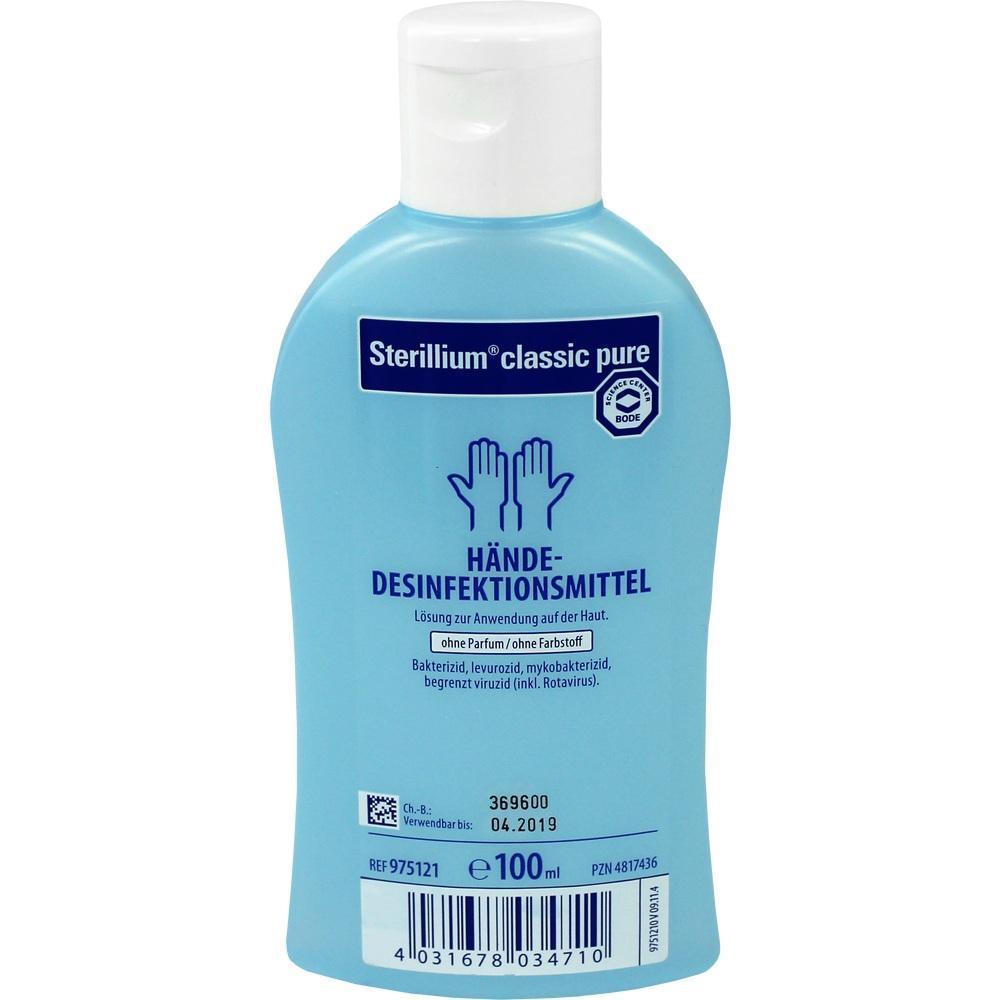 Sterillium Classic Pure Pzn 4817436 Elefanten Apotheke